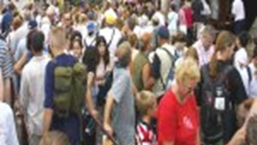 A População europeia aumentou graças à imigração