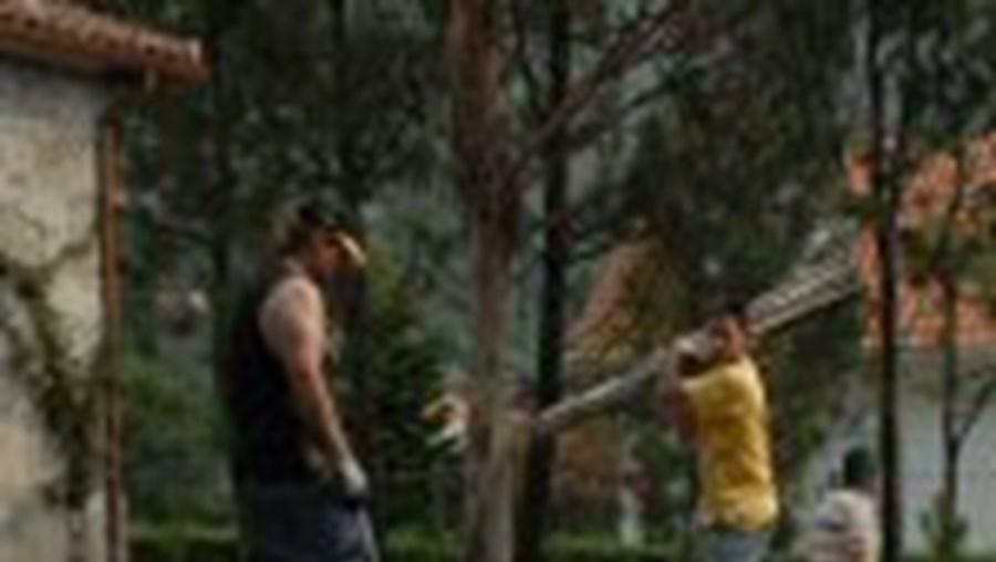 O rebentamento dos explosivos destruiu os escritórios de uma empresa de pirotecnia em Âncora Lage
