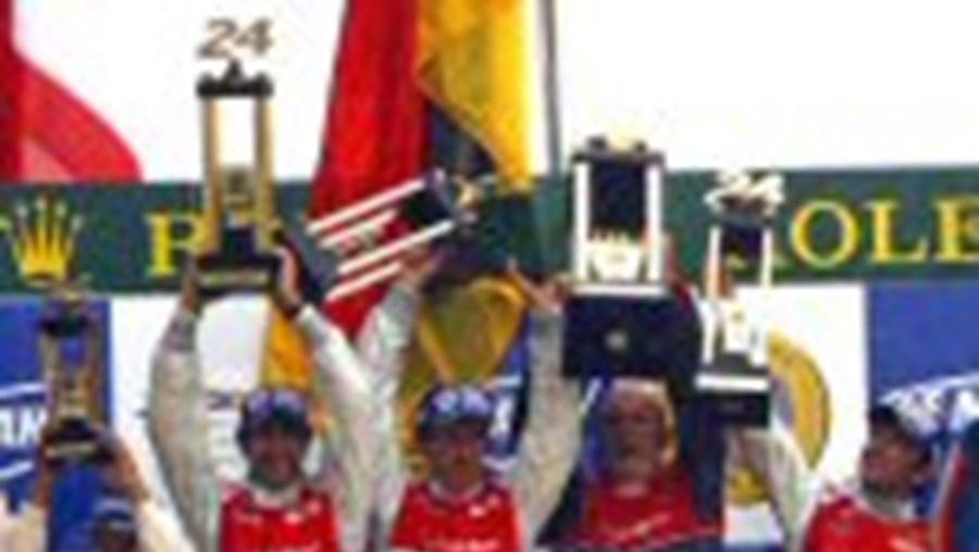 Lamy histórico em Le Mans