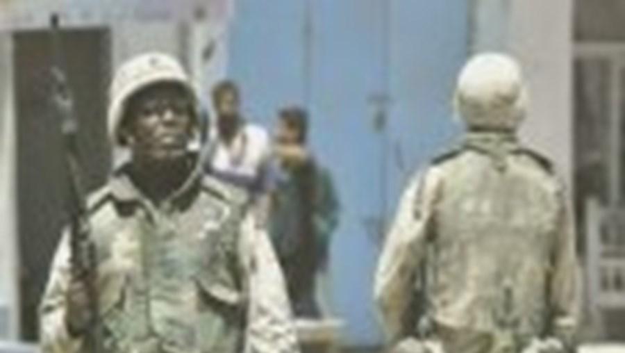 Soldados dos EUA em Tikrit