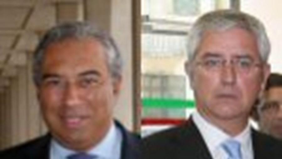 António Costa (PS) e Fernando Negrão (PSD) tiveram ontem iniciativas ligadas à área social