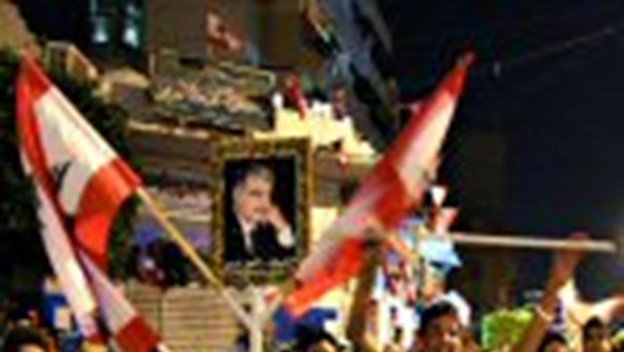 Libaneses festejam em Beirute a investigação da ONU à morte de Hariri