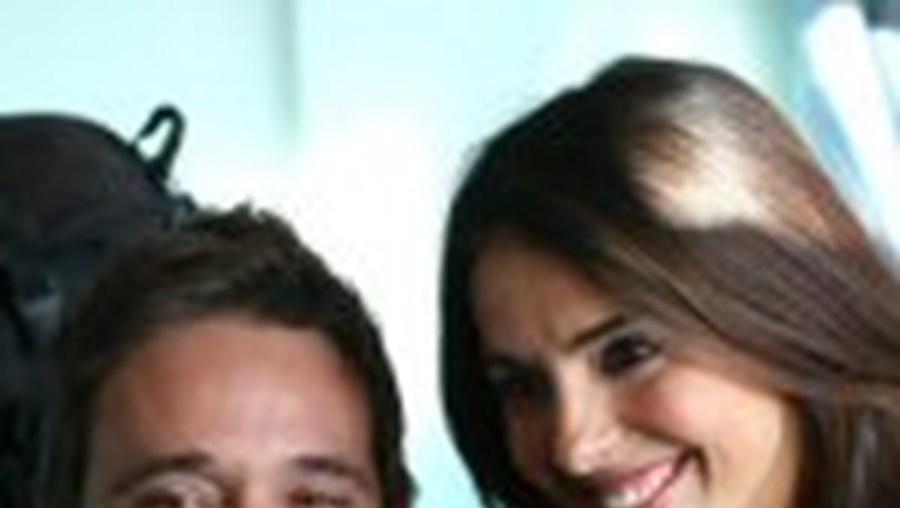 Diogo Infante e Catarina Furtado, uma das amigas mais íntimas do actor e encenador