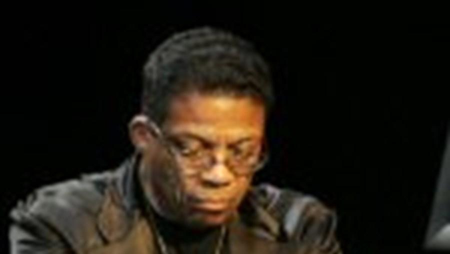 O músico Herbie Hancock