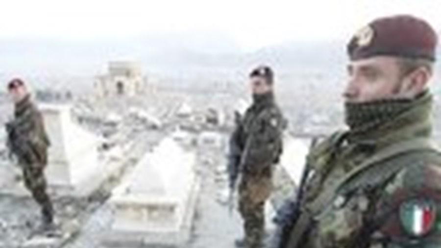 O contingente italiano tem sido alvo de vários ataques