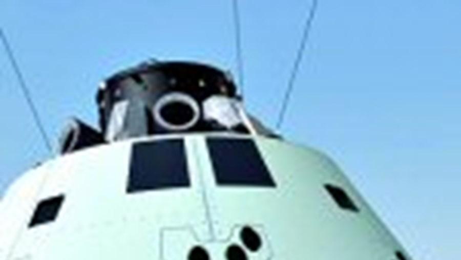 A cápsula 'Orion' tem forma de cone e leva até quatro pessoas