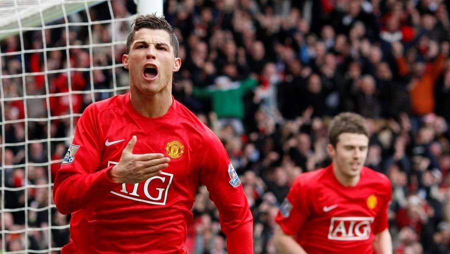Ronaldo joga amanhã pelo Man. United frente à Roma para os quartos-de-final da Liga dos Campeões