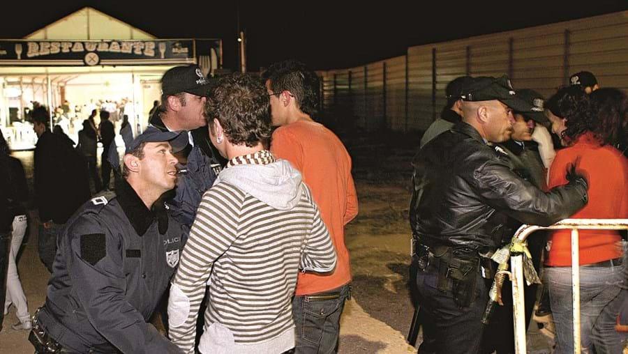 Semana Académica tem decorrido sem grandes problemas, diz a PSP que garante a segurança no recinto