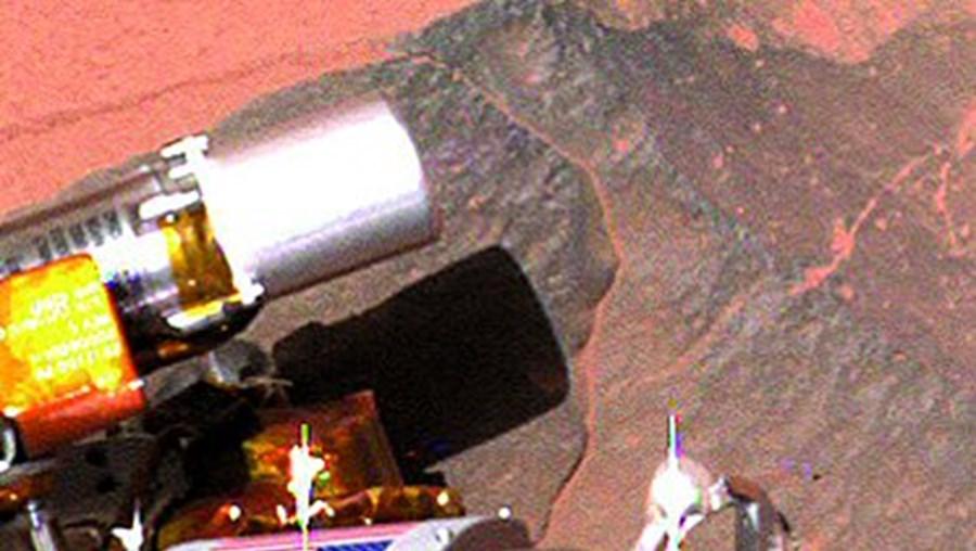 Cientistas analisaram os depósitos de sílica transportados pelo 'Spirit'