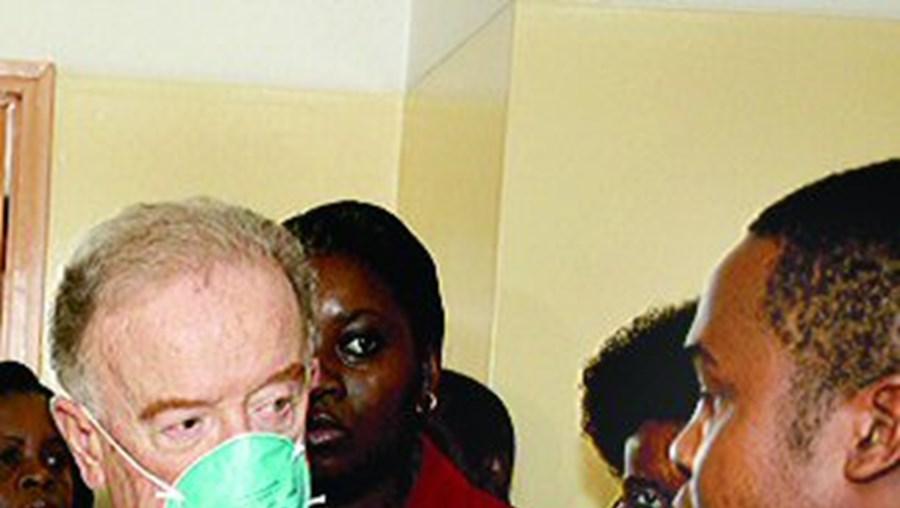 Jorge Sampaio é o enviado especial da ONU para a doença