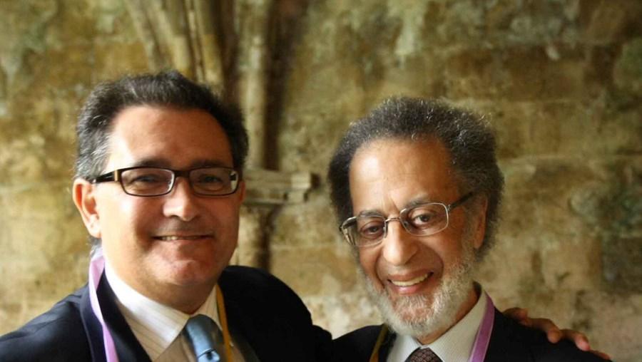 Pedro Dias (à esq.) e Alarcão