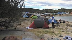 Milhares acampados às portas do Boom