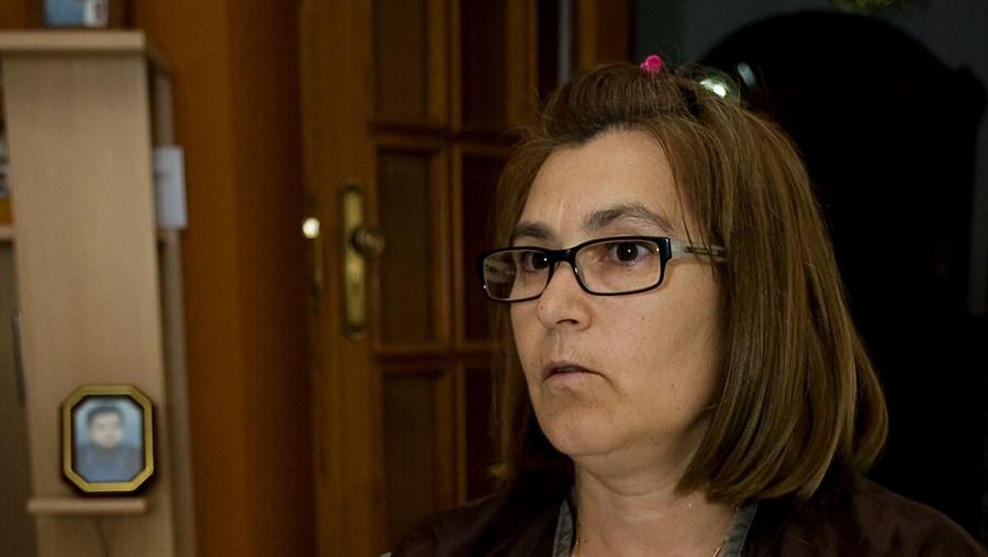 Amélia Dias ficou com uma incapacidade de 60 por cento