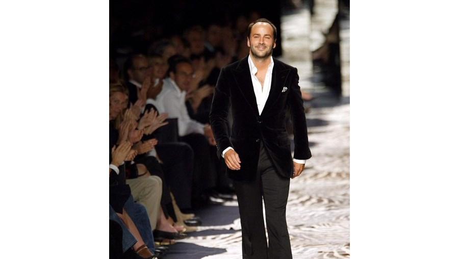 Tom Ford entrou no mundo da moda através da Gucci em 1990