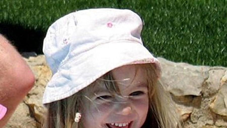 Madeleine Mccann desapareceu a 3 de Maio de 2007