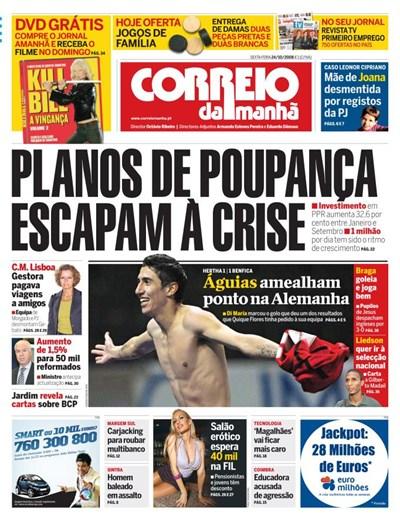 Capa 24 Outubro 2008