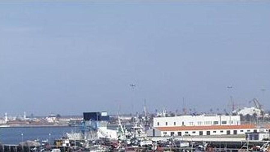 A acção decorreu junto ao porto de Aveiro