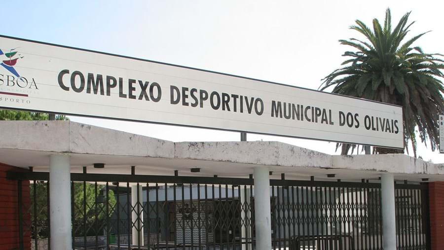 Piscina fechada em Lisboa