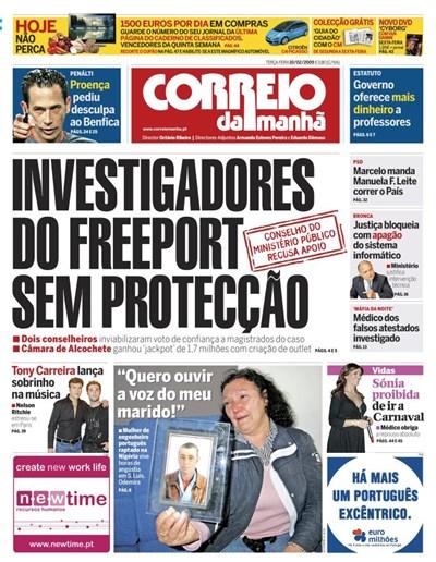 Capa 10 Fevereiro 2009