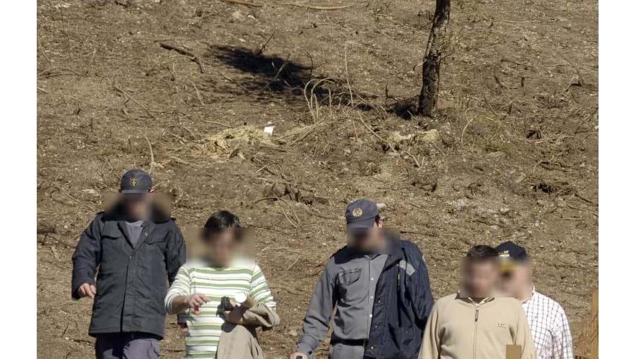 A operação de recolha das ossadas foi acompanhada pela PJ de Braga