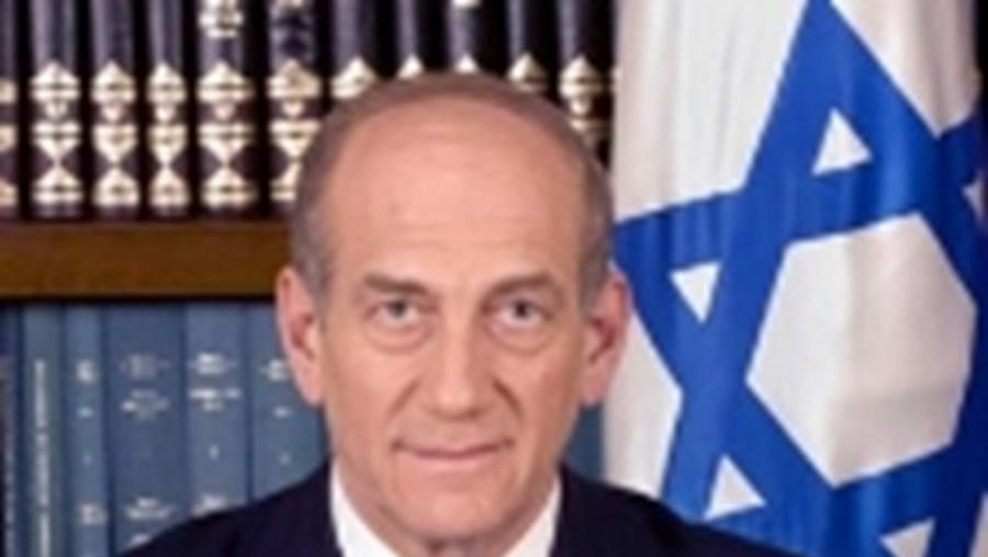 Ehud Olmert, primeiro-ministro de Israel