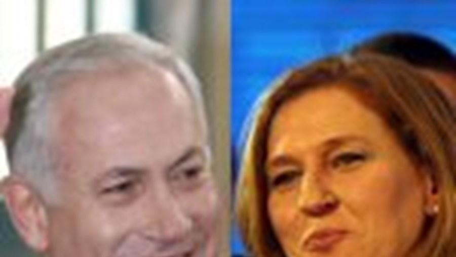 Benjamin Netanyahu e Tzipi Livni reclamam ambos o direito a formar governo