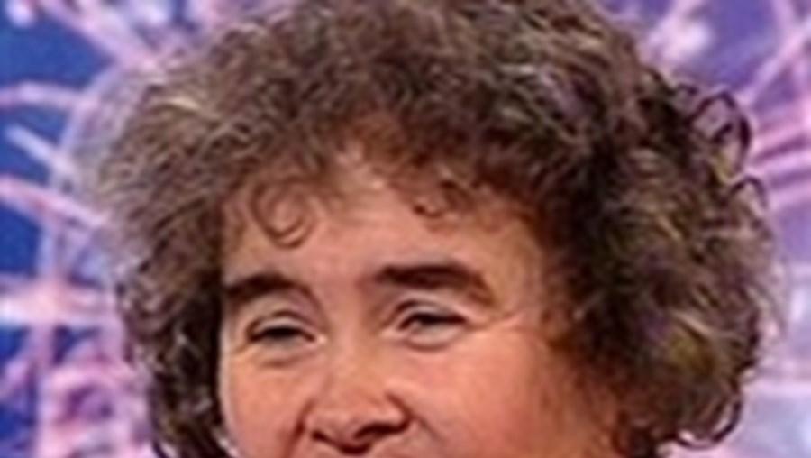 Susan Boyle já é um fenómeno