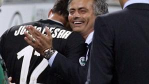 A festa de Mourinho