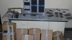 Armas e haxixe em operação da GNR