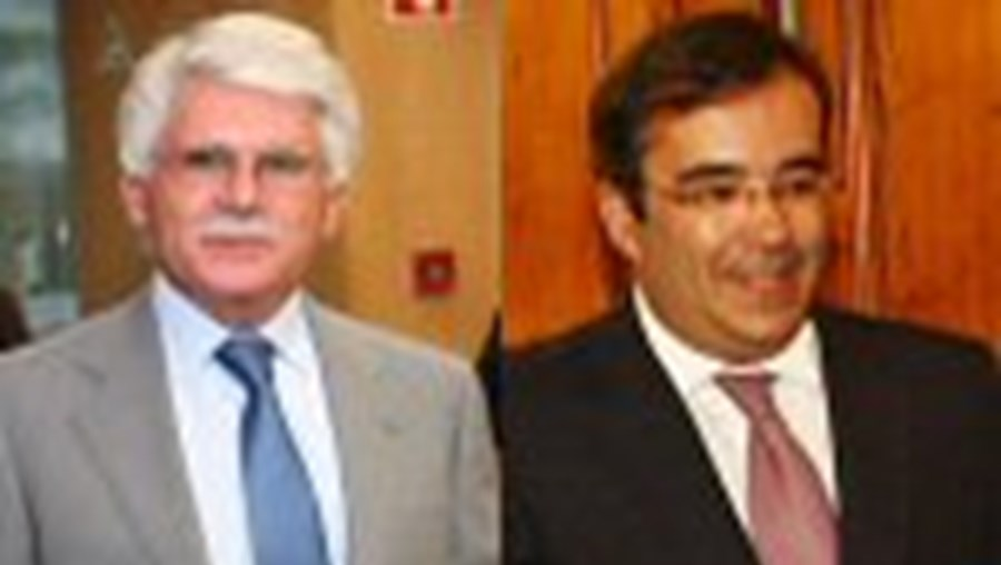 Vital Moreira (PS) e Paulo Rangel (PSD)