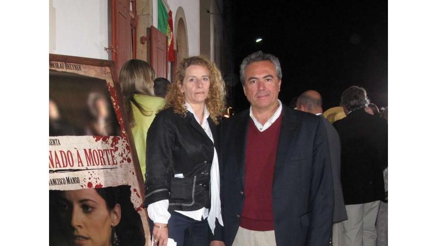 A produtora Ana Costa e o realizador Francisco Manso na antestreia