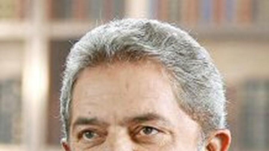 O presidente brasileiro, Lula da Silva