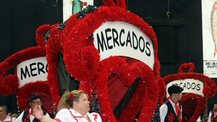 Marcha dos Mercados abriu a segunda noite de desfiles no Atlântico