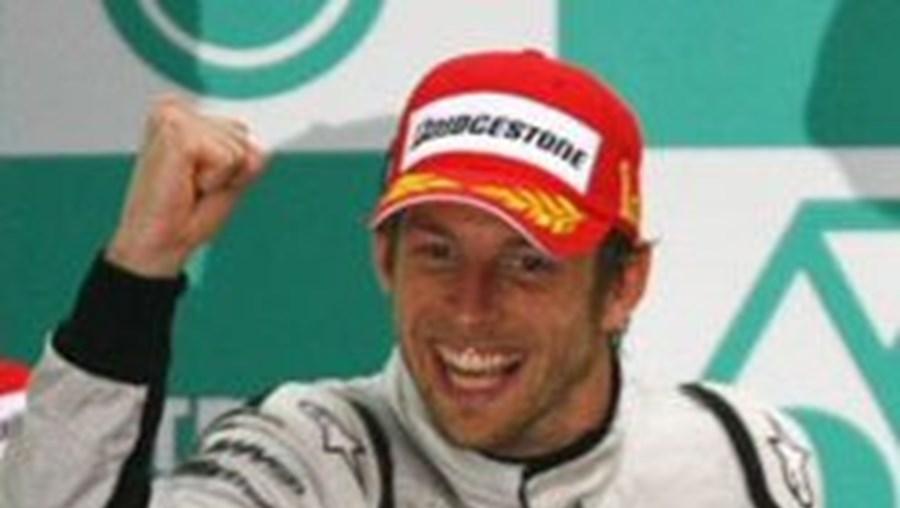 Button conquistou a sexta vitória da época