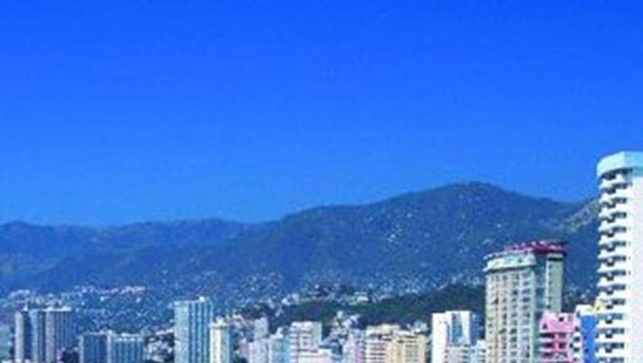 A cidade Acapulco