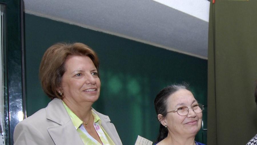 Ilda Figueiredo, candidata da CDU