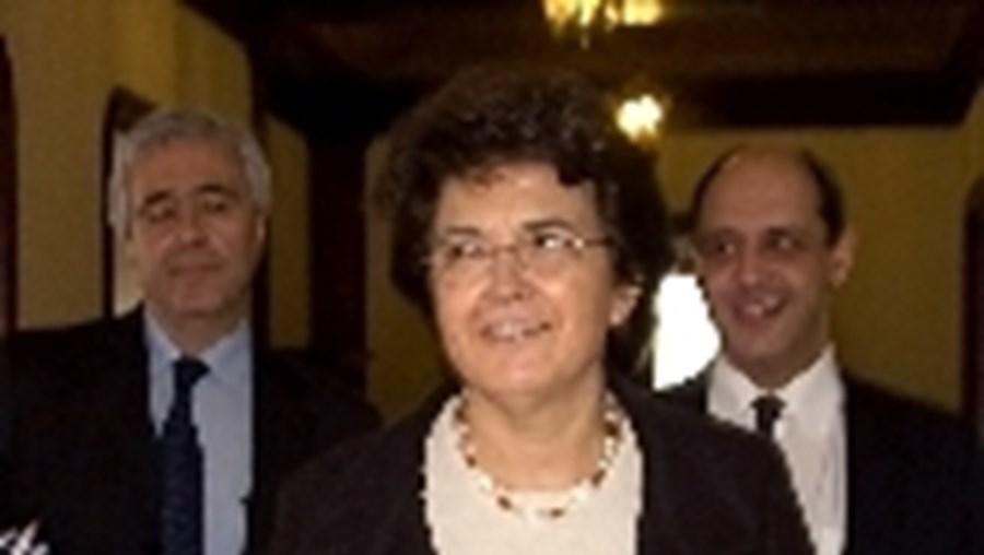 A ministra da Saúde, Ana Jorge