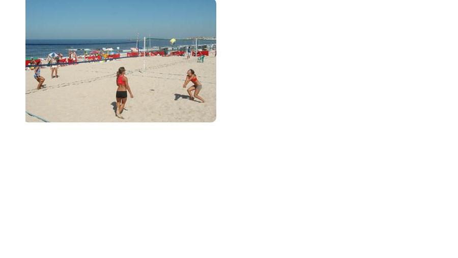 Animação nas praias de Vila do Conde