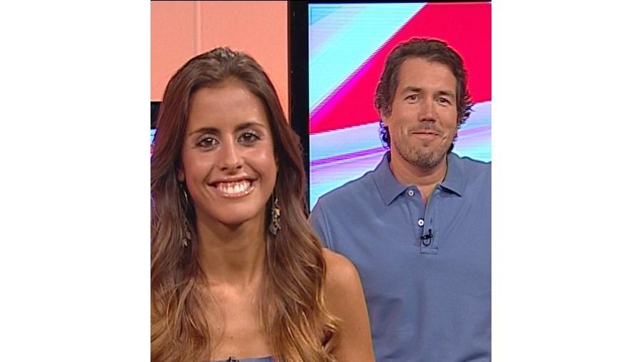 Carolina Patrocínio e Pedro Miguel Ramos irão lutar pelas audiências no novo horário