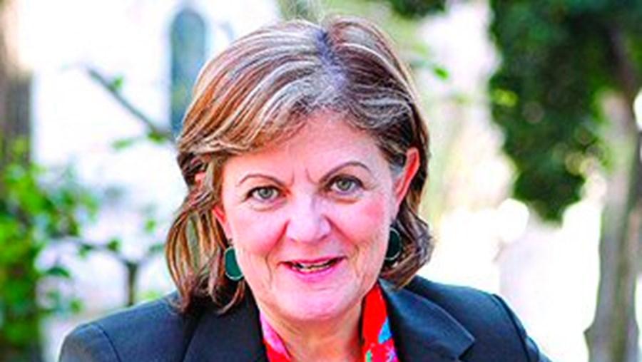 A candidata Elisa Ferreira