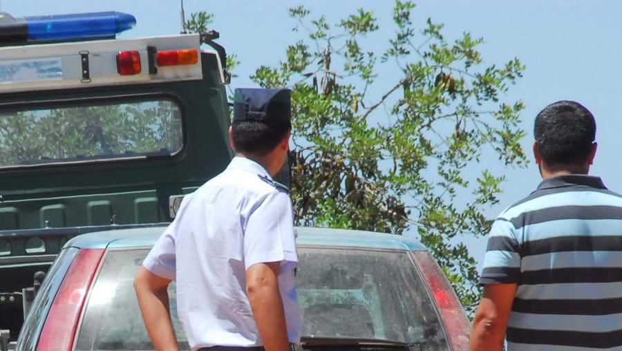 Ao longo da manhã de ontem técnicos da Investigação Criminal da GNR fizeram a peritagem ao veículo