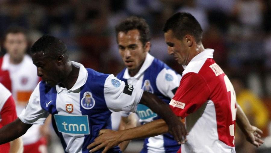 Silvestre Varela esteve em destaque ao marcar o golo da vitória