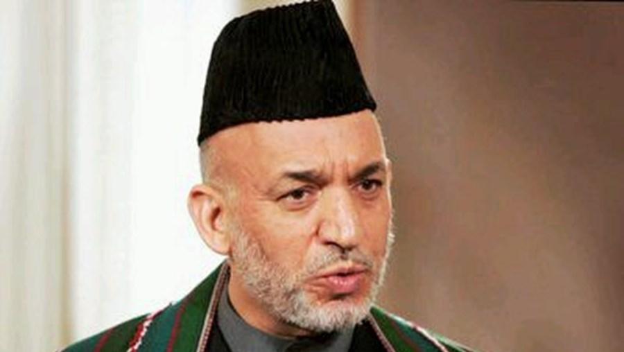 Hamid Karzai elogiou esforço internacional