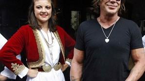 Mickey Rourke convidado em Sarajevo