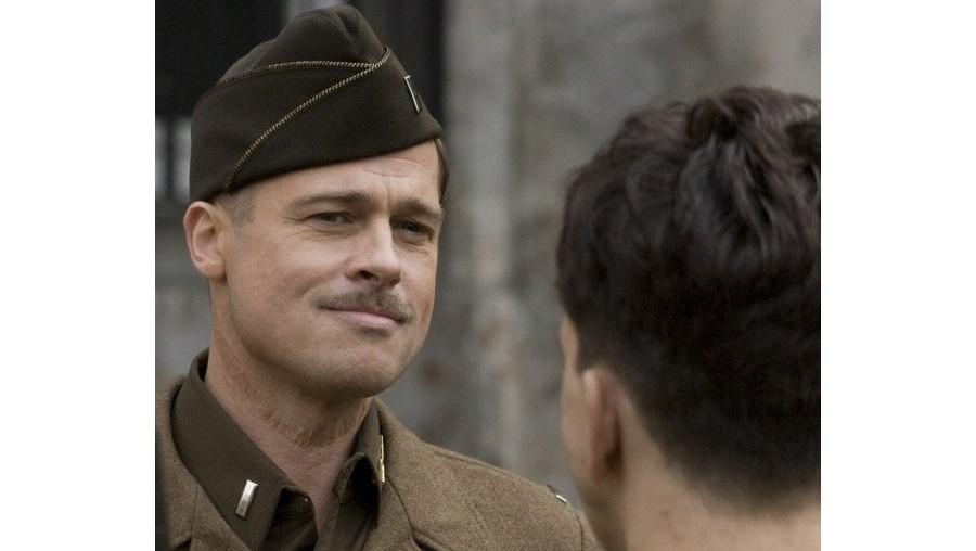 Brad Pitt é o protagonista de 'Sacanas Sem Lei', a mais recente aventura cinematográfica de Tarantino