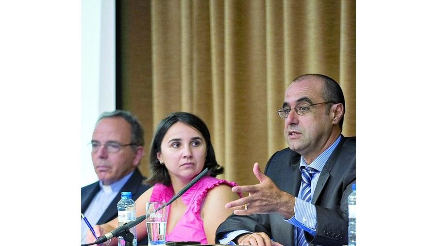 D. Manuel Clemente, Sílvia Reis e Octávio Ribeiro