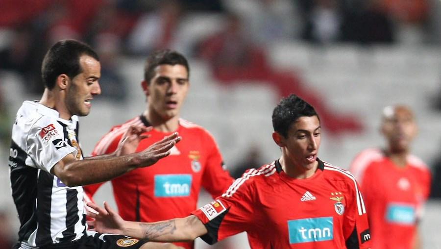 Jogo Benfica-Nacional, da época passada, prolongou-se após os 90 minutos e ainda não terminou...