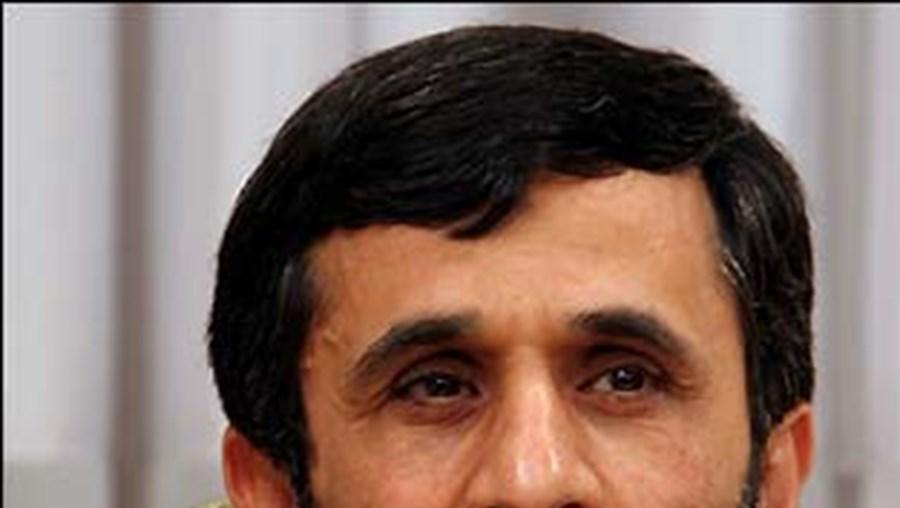 O presidente do Irão, Mahmud Ahmadinejad