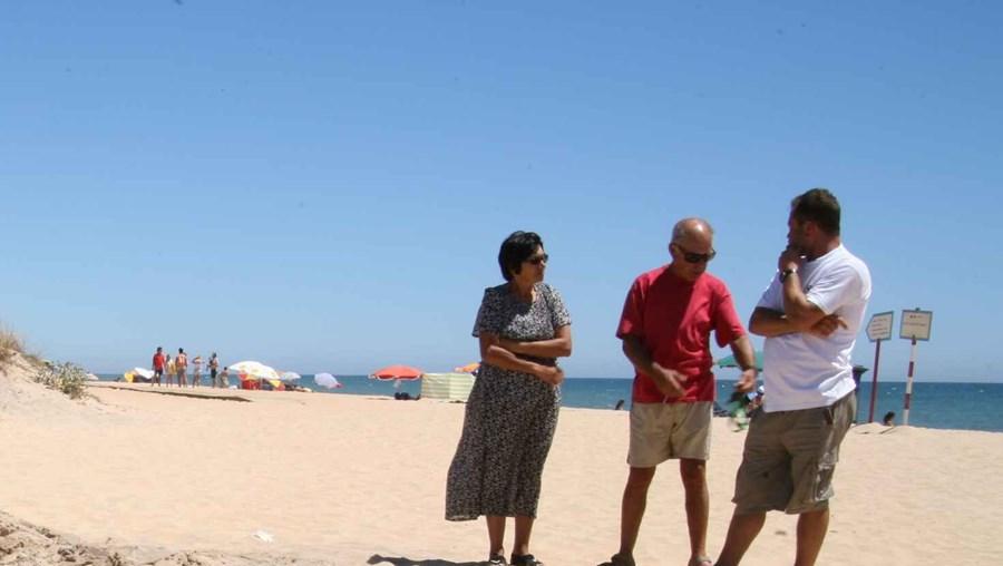 ARH dirigida por Valentina Calixto, vai recarregar a praia com mais de 1,2 milhões de metros cúbicos de areia
