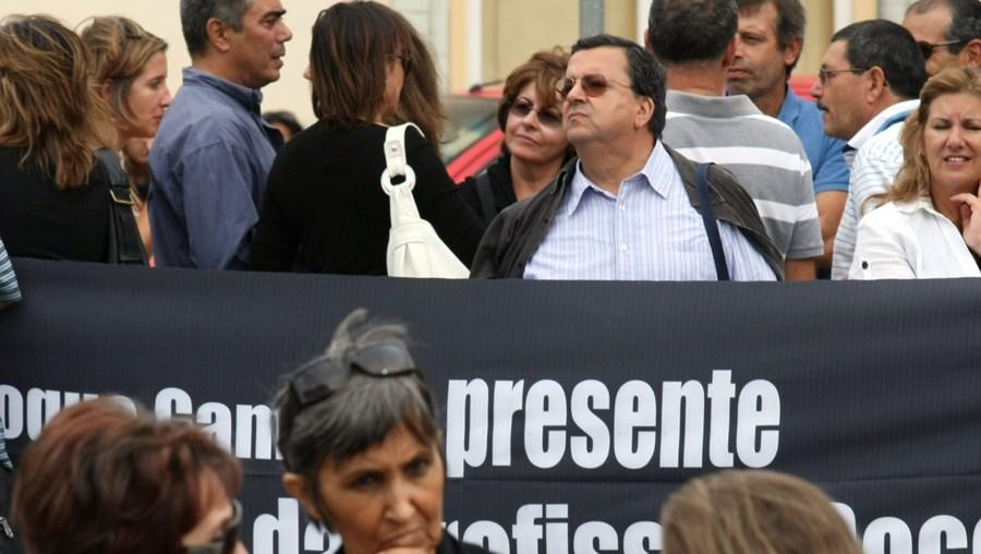 Docentes manifestaram-se junto ao Ministério da Educação